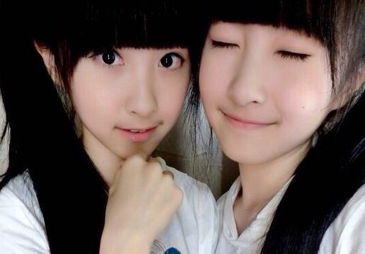 台湾超萌双胞胎长成美女