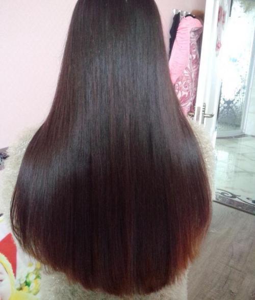 说我头发这么长怎么发图片